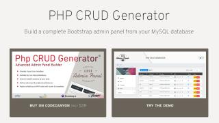 PHP CRUD Generator | FeedMyApp