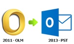 Mac Office 2011 Outlook to Windows Outlook 2013 Conversion