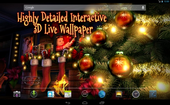 Beautiful, hand crafted Christmas wallpaper to keep the spirit alive