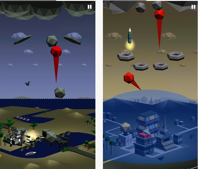 Give enemy clouds the finger with this fast and addictive iOS game