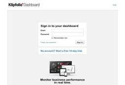 Klipfolio Dashboard for web and mobile
