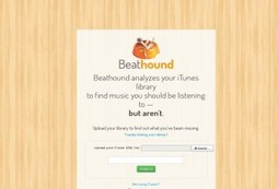 Let Beathound fill the gaps in your music collection