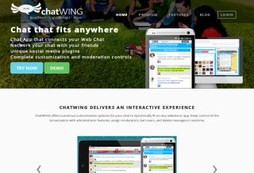Chatwing Chat App