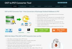 OST to PST Converter Application