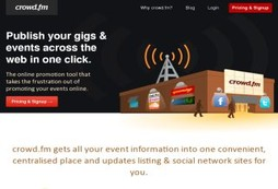 A gig promotion tool that everyone can take advantage of