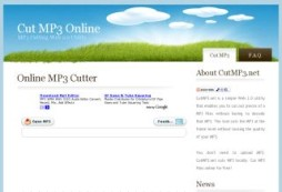 Cut MP3 Files Online