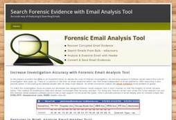 Forensic Email Tools