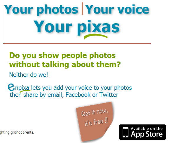 Put a voiceover on your photos