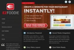 Easily create a website for your restaurant