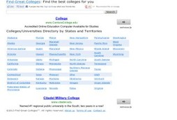 Find Great Colleges