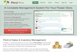 Complete POS to make your flower shop grow