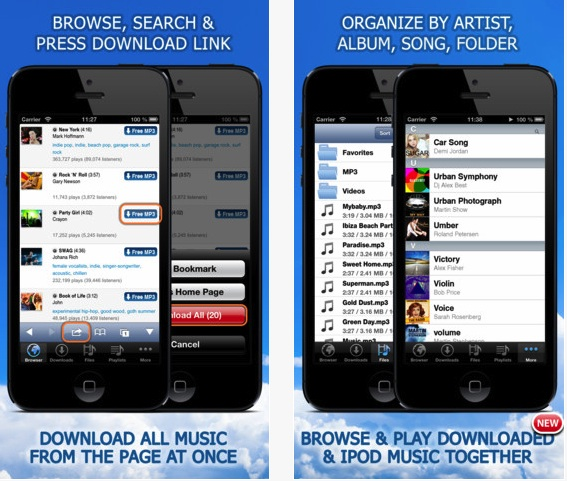 Put free and legal music on your iDevice