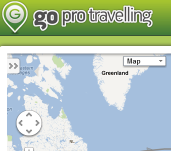 Map and blog your air and road trips in the same place