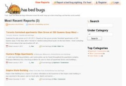 Does that place have bedbugs?  Check or report here!