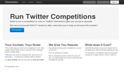 Run Twitter Competitions