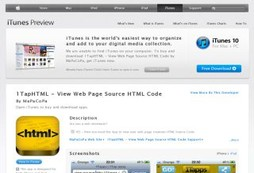 1TapHTML - View Web Page Source HTML Code