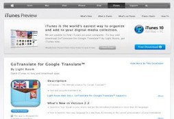 GoTranslate 2.2 for Google Translate™