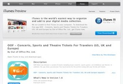 OOF – Concerts, Sports and Theatre Tickets For Travelers (US, UK and Europe)