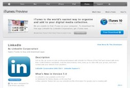 Your social and professional network for iPad