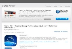 World Air – Weather Smog Particulate pm2.5 pm10 Pollution Information