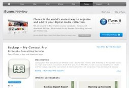 Backup - My Contact Pro | Contact Backup For Iphone