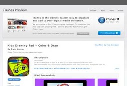 Kids Drawing Pad - Color & Draw