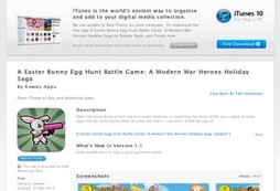 A Easter Bunny Egg Hunt Battle Game