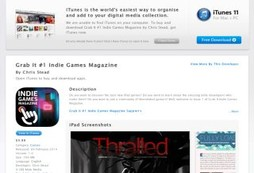 Grab It #1 Indie Games Magazine
