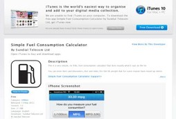 Simple Fuel Consumption Calculator