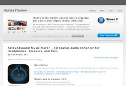 AstoundSound Music Player - 3D Spatial Audio Enhancer for Headphones, Speakers, and Cars