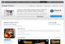 Anyone for iPhone cricket?