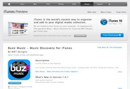 Buzz Music - Music Discovery for iTunes