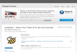 Complete - Share Your Tasks & To-Do Lists Socially