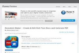 Document  Maker - Create & Edit Rich Text Docs