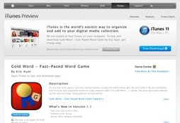 Gold Word - Fast-Paced Word Game