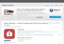 Secret Delivery - Private Texting and Secure File Sharing