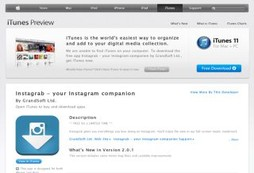 Download and share your favorite Instagram photos