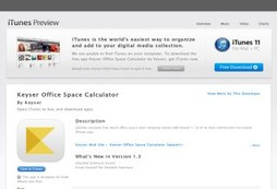 Keyser Office Space Calculator