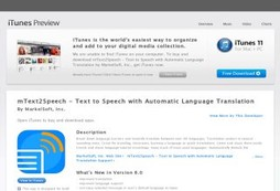 mText2Speech - Translate, Speak and Share
