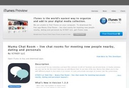 Mumu Chat Room - live chat rooms for meeting new people nearby, dating and personals