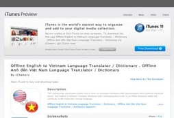 Offline English to Vietnam Language Translator / Dictionary . Offline Anh đến Việt Nam Language Tran