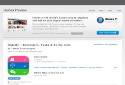 Orderly - Reminders, Tasks & To Do Lists