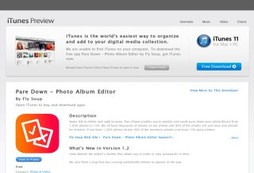 Pare Down - Photo Album Editor
