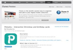 Pinnatta - Interactive Christmas and birthday cards