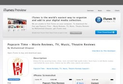 Popcorn Time - Movie Reviews, TV, Music, Theatre Reviews