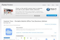Scanner Free - Portable Mobile Office Tool Business Edition