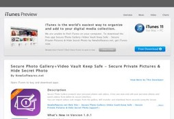 Secure Photo Gallery