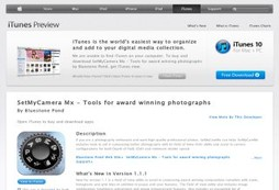 SetMyCamera Mx - Tools for award winning photographs