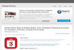 Shoply Retail Deals & Digital Wallet: Your Intelligent Shopping Assistant for Coupons, Circulars, Lo
