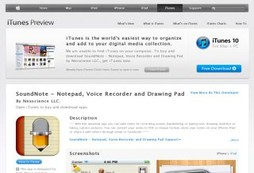 SoundNote - Notepad, Voice Recorder and Drawing Pad